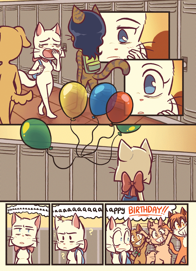 Unwanted Gift — Page 1