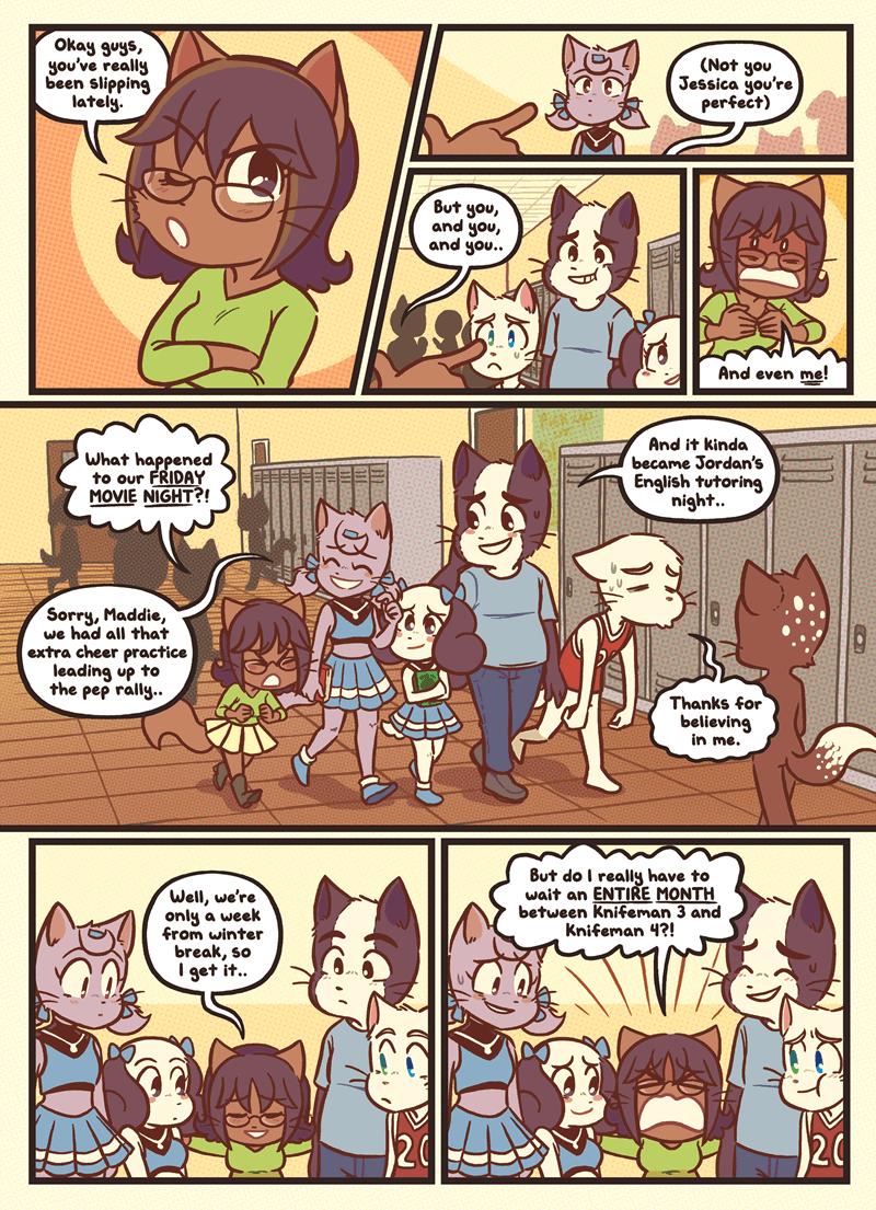 Burnt Bridges — Page 1