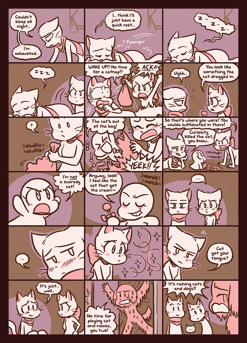 Catty Remarks — Page 1