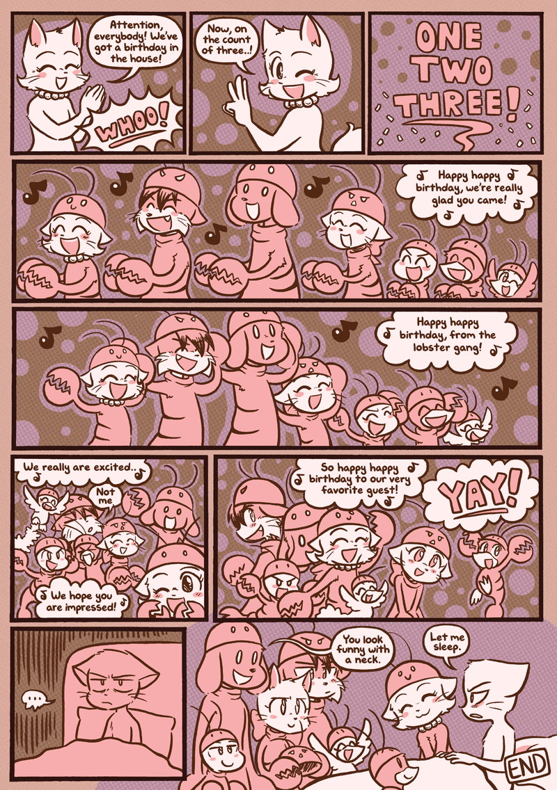 Mike's Birthday — Page 1