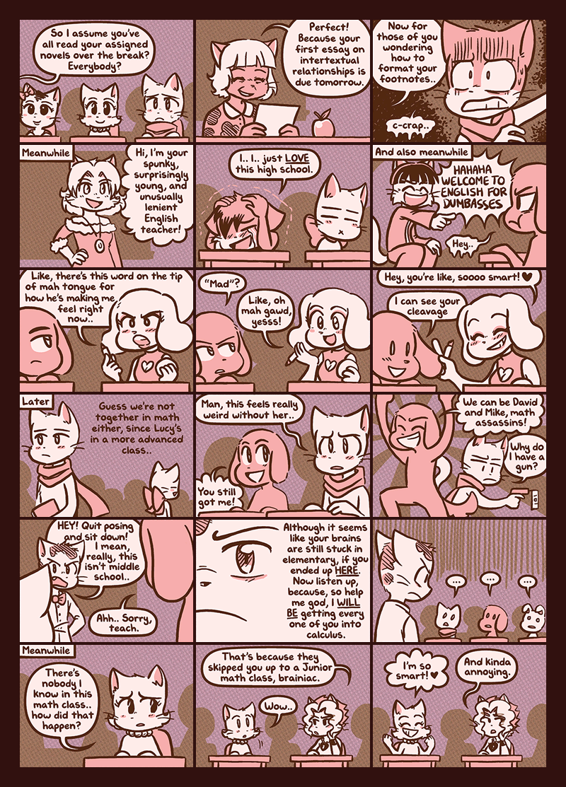 Enter High School — Page 5