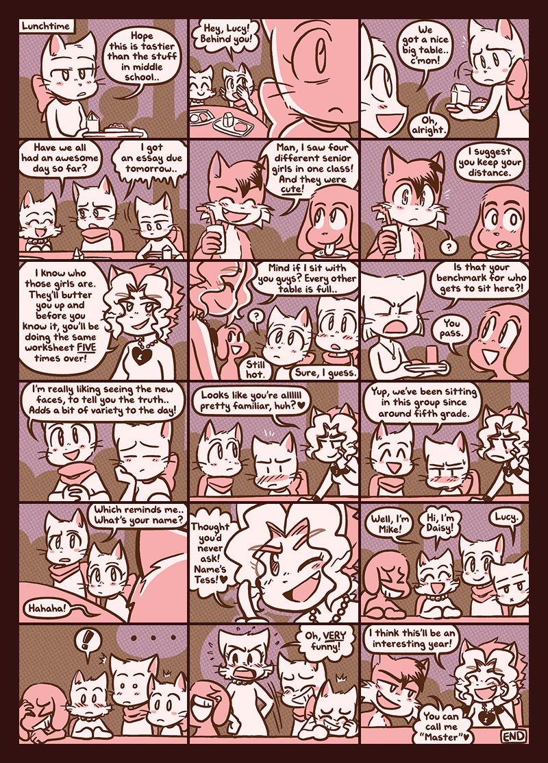 Enter High School — Page 6