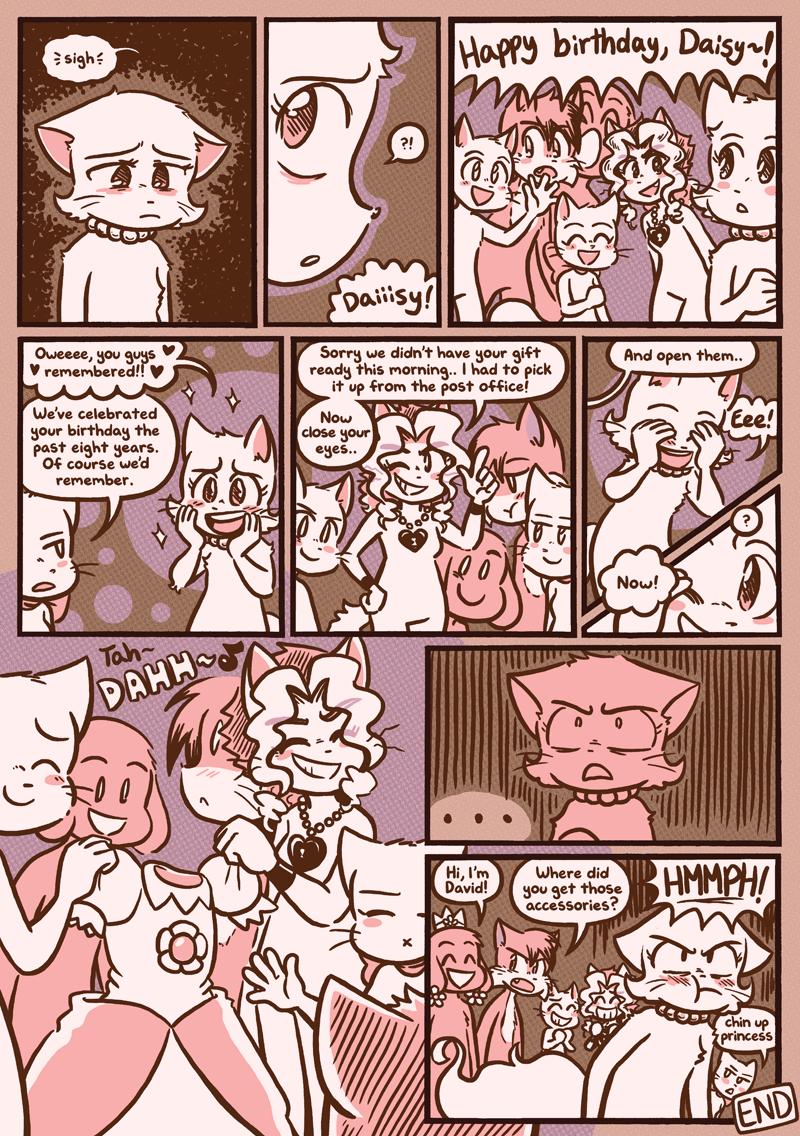 Daisy's Birthday — Page 1
