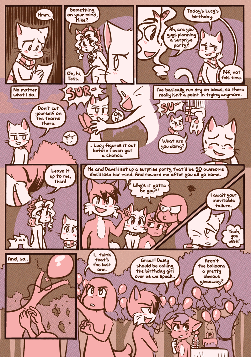 Lucy's Birthday — Page 1