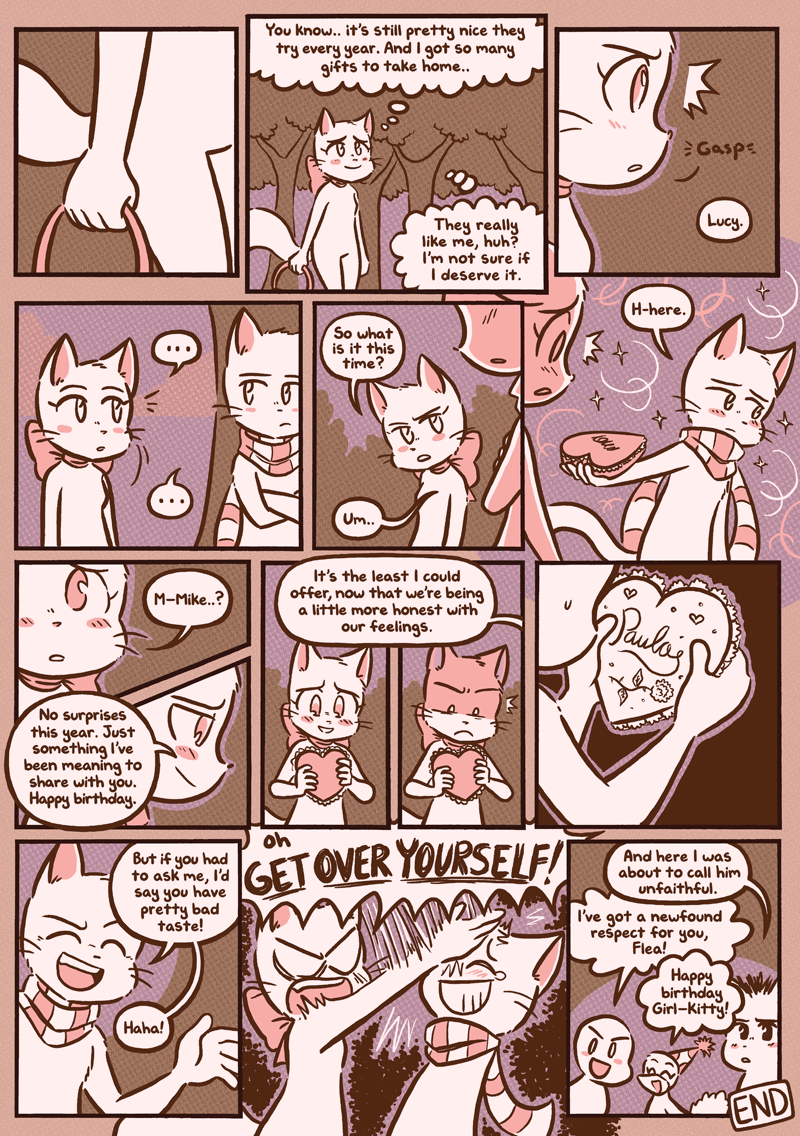 Lucy's Birthday — Page 3