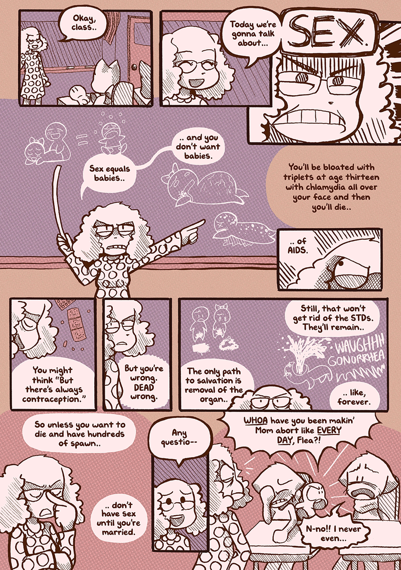 The Burden of Parenthood — Page 1