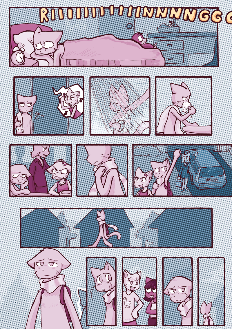A Distance Apart — Page 1
