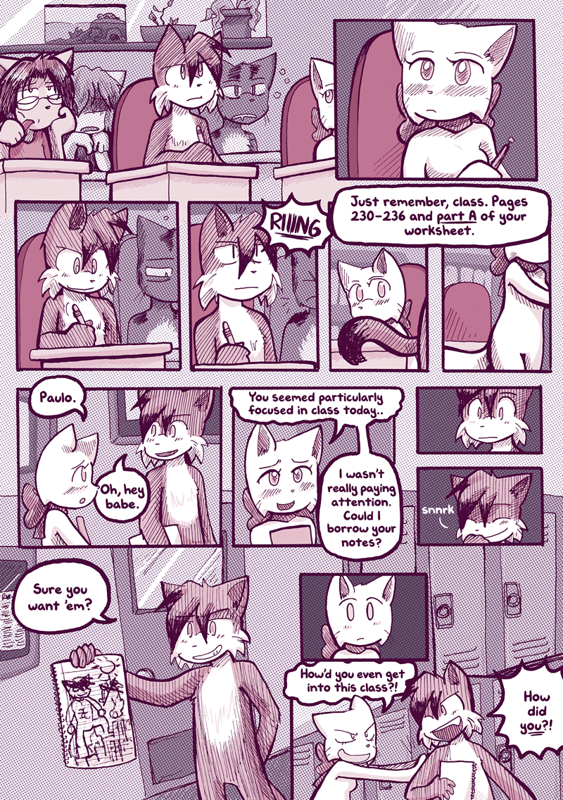Back and Forth — Page 1