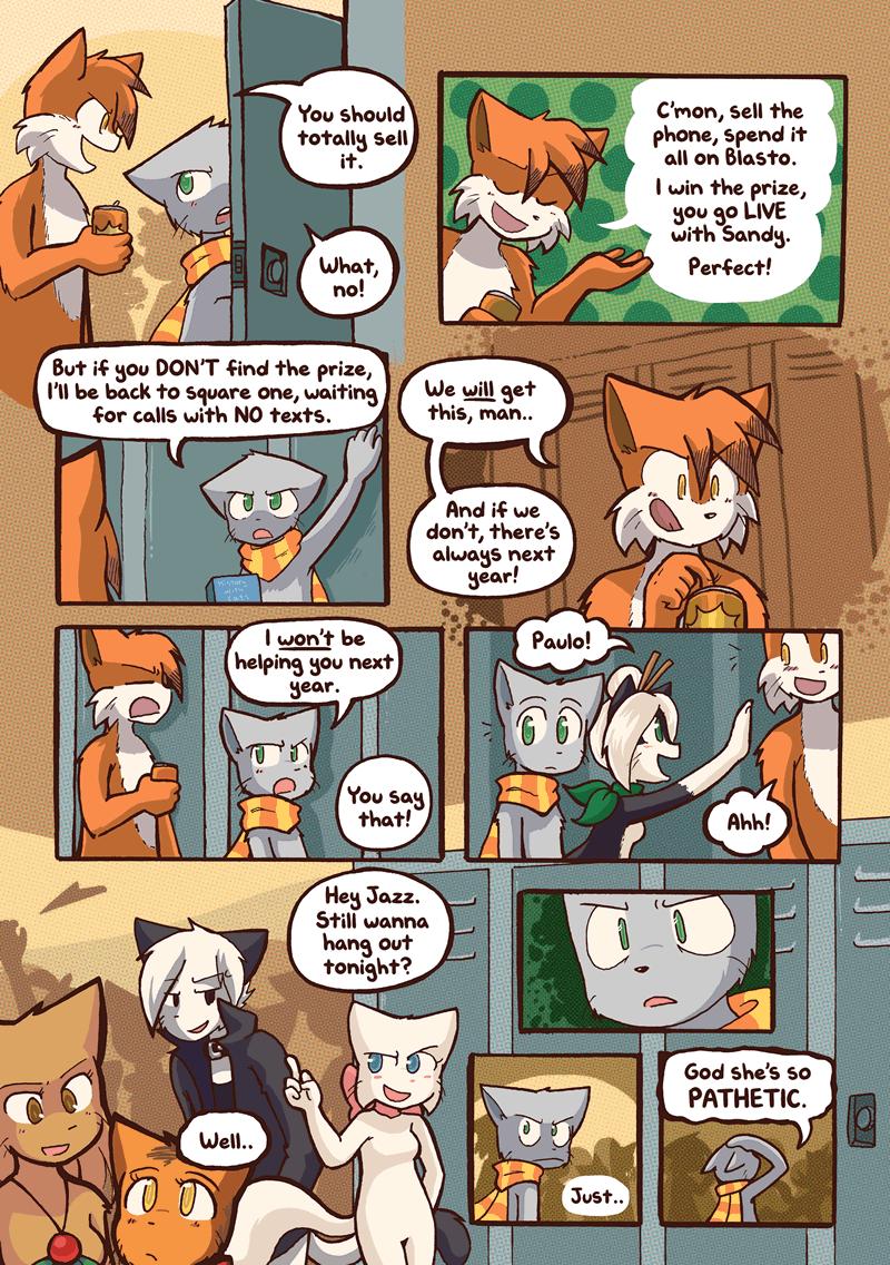 Feline Filibuster — Page 5