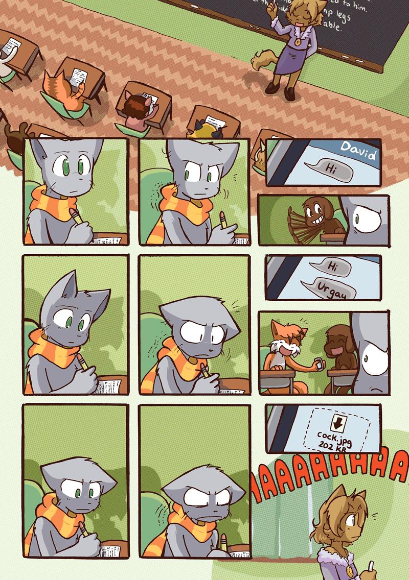 Feline Filibuster — Page 6