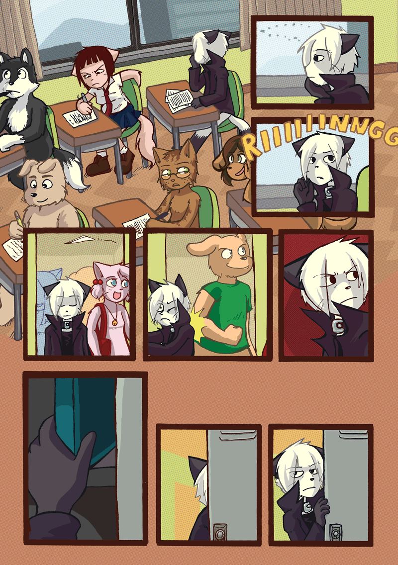 On Our Own — Page 1