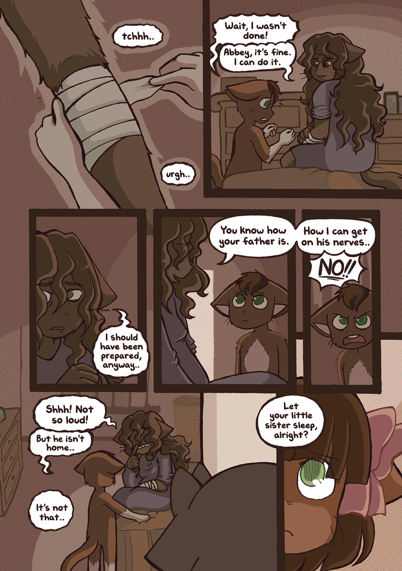 At Loose Ends — Page 1