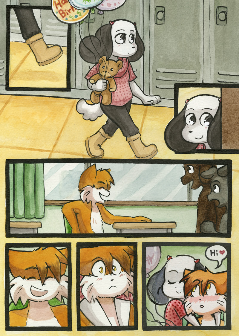Happy Hour — Page 1