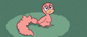 Chirpy character picture