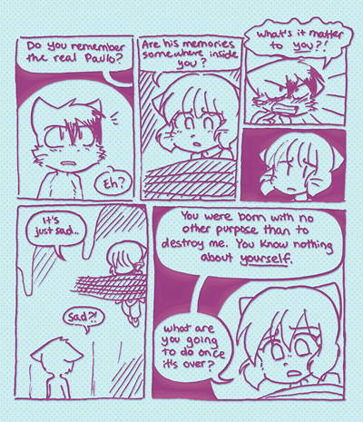 A clipping from Magical Girl Redux