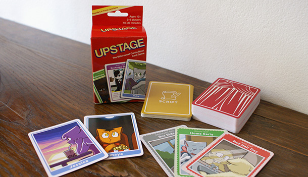Upstage, the Bittersweet Candy Bowl card game!
